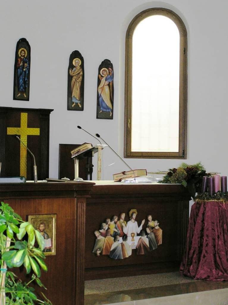 E 5 Chiesa Santa Maria Assunta a Doganella di Ninfa LT 35