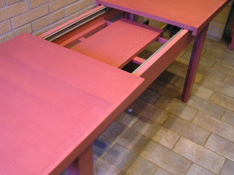 Tavolo in legno salvaspazio