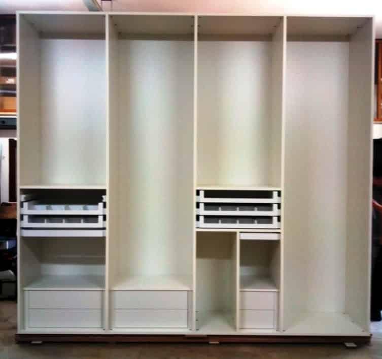 armadio in legno multitasking